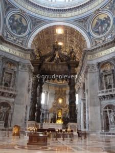 St Peter's Basilica (interior)